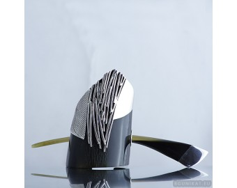 Unique Sterling Silver Hair Barrette