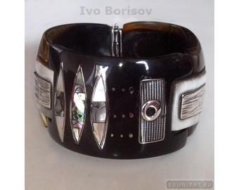 Sterling silver bracelet 658a