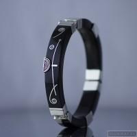 Sterling silver bracelet bangle 488