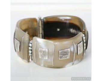 Sterling silver bracelet bangle unique one of a kind 630