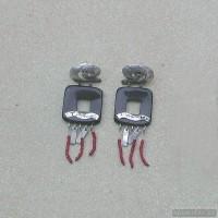 Sterling silver earrings 105a