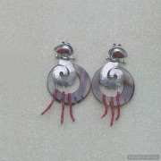 Sterling silver earrings 105b