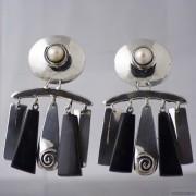 Sterling silver earrings 540