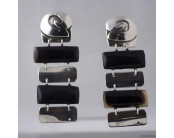 Sterling silver earrings 541