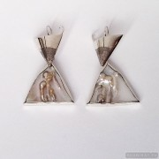 Sterling silver earrings 641