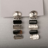 Sterling silver earrings 104a