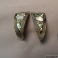 Sterling silver earrings 99a