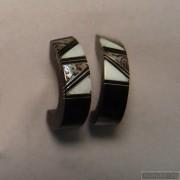 Sterling silver earrings 99b