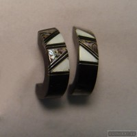 Sterling silver earrings 99b