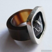 Sterling silver ring 34