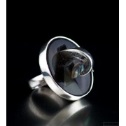 Sterling silver ring unique, one of a kind 226