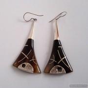 Sterling silver earrings 761