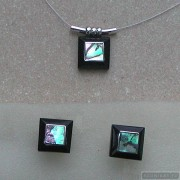 Sterling silver jewelry set 133