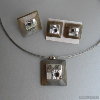 Sterling silver jewelry set 189