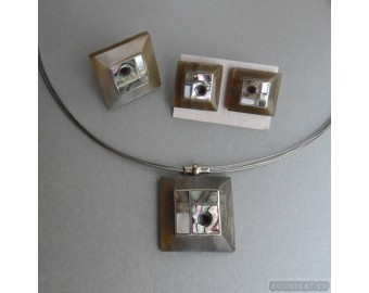 Sterling silver jewelry set 186