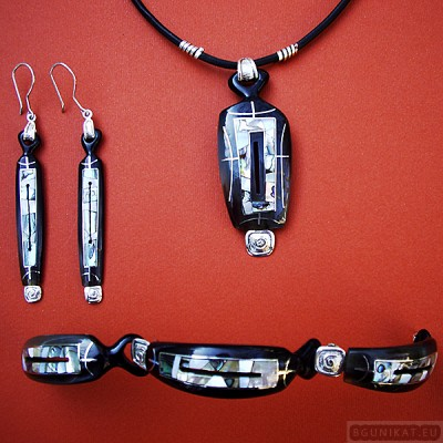Sterling silver jewelry set 191