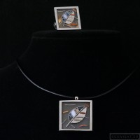 Sterling silver jewelry set 209