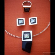 Sterling silver jewelry set 229