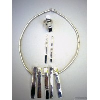 Sterling silver jewelry set blank 236