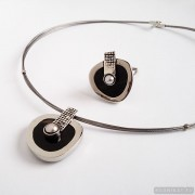 Sterling silver jewelry set 240