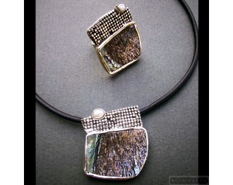 Sterling silver jewelry set 253