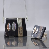 Sterling silver jewelry set 530