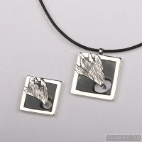 Sterling silver jewelry set comet 554