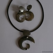 Sterling silver jewelry set 653