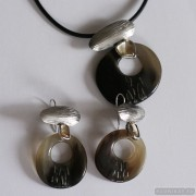 Sterling silver jewelry set 655