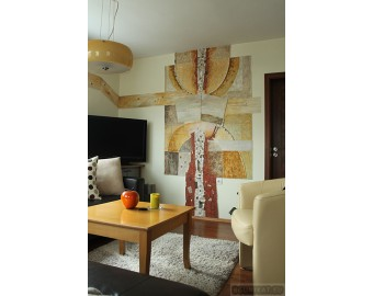 Wall panel for private home